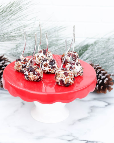 Cranberry Pecan Mini Cheese Balls