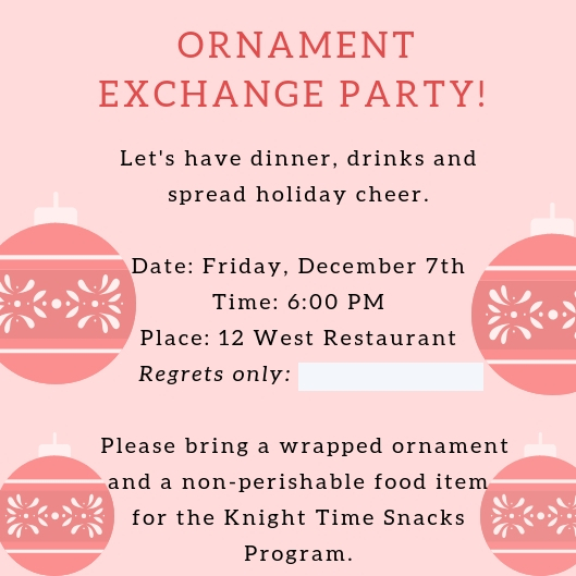 How to Host an Ornament Exchange Party