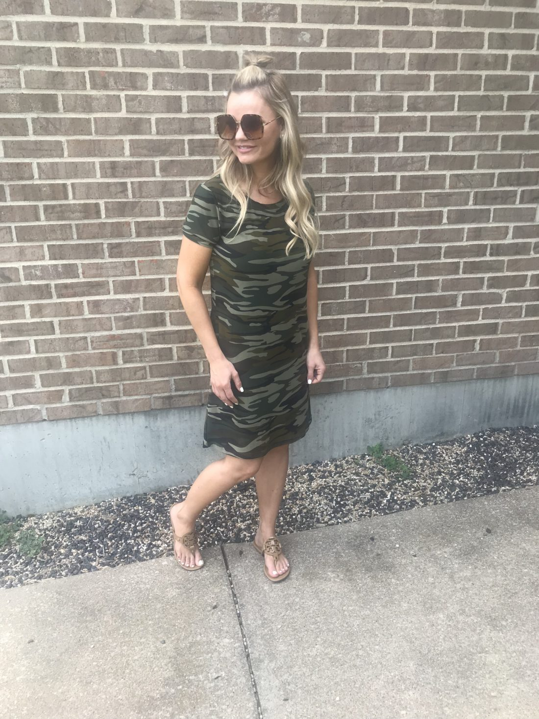 Amazon Summer Fashion Finds. Love this casual camo dress.| A Cup Full of Sass #amazon #acupfullofsass