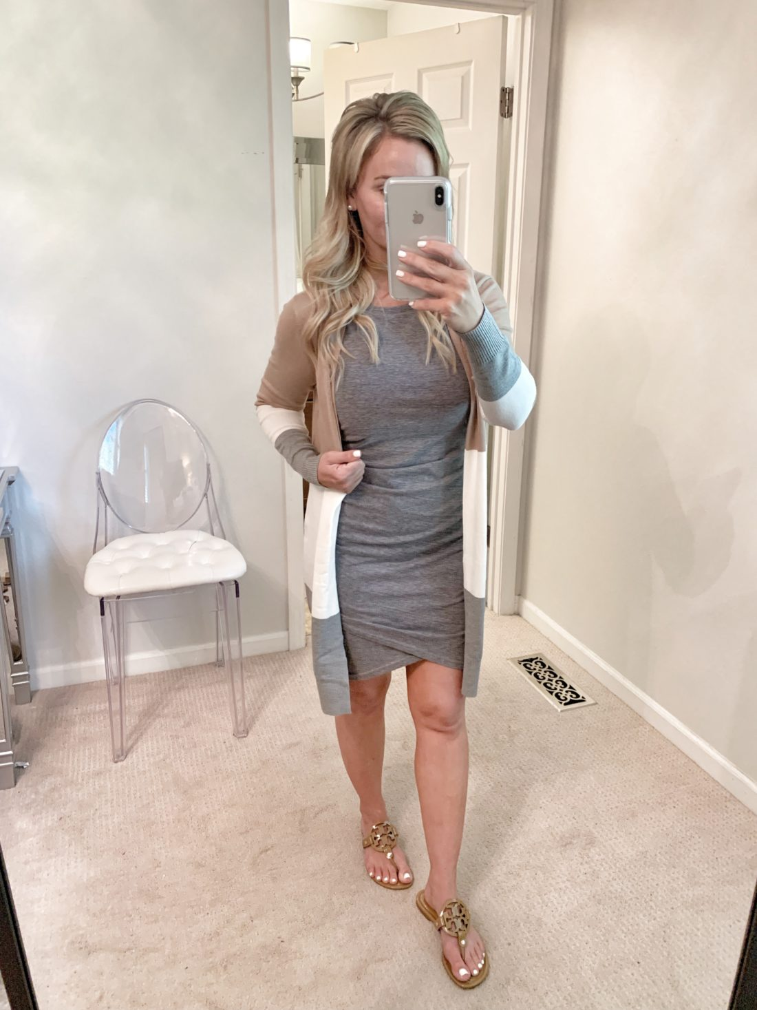 Ruched Dress - Fall Outfit ideas