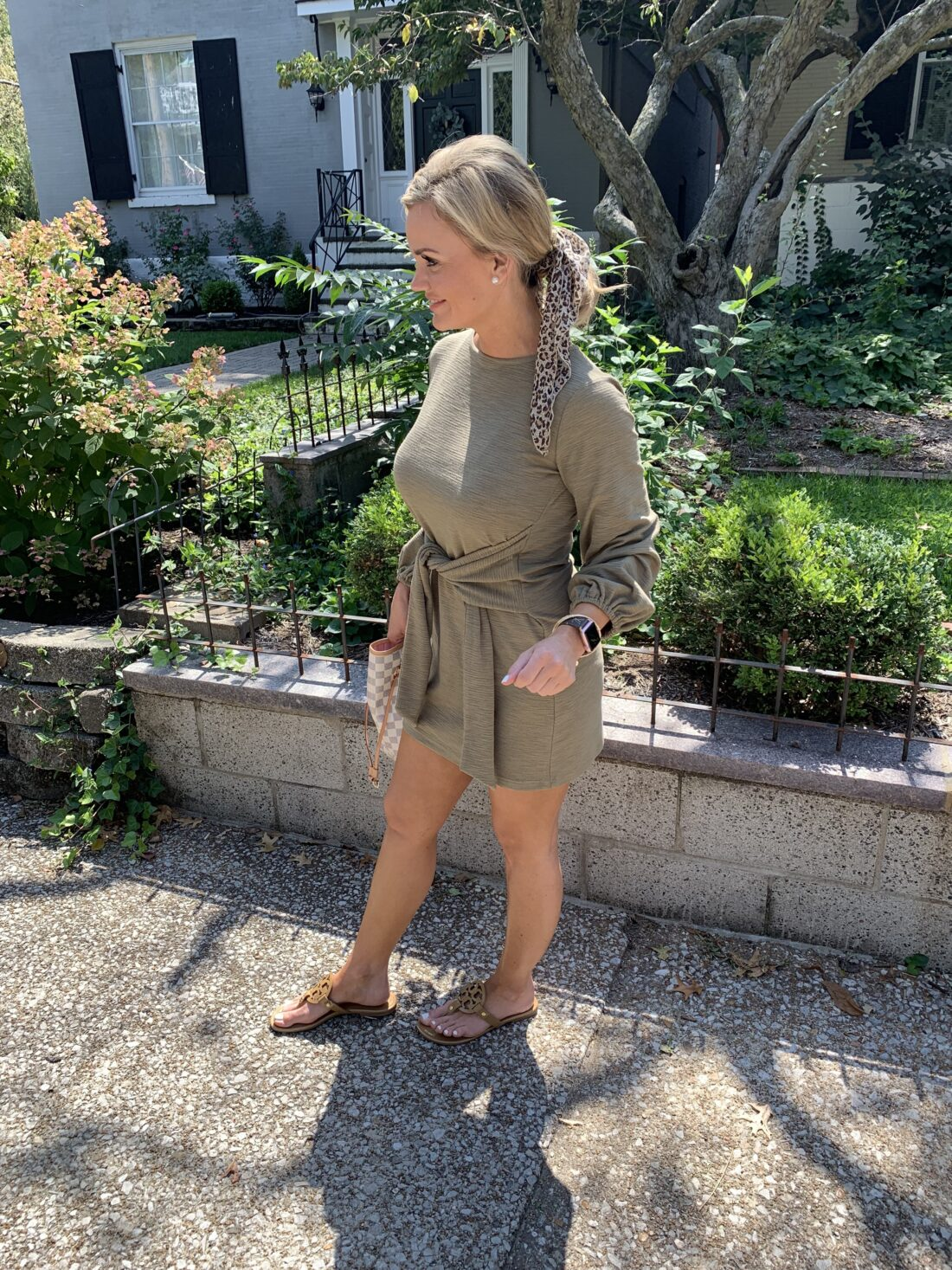 Fall Tie Waist Sweater Dress. My latest Amazon Fashion finds for Fall.