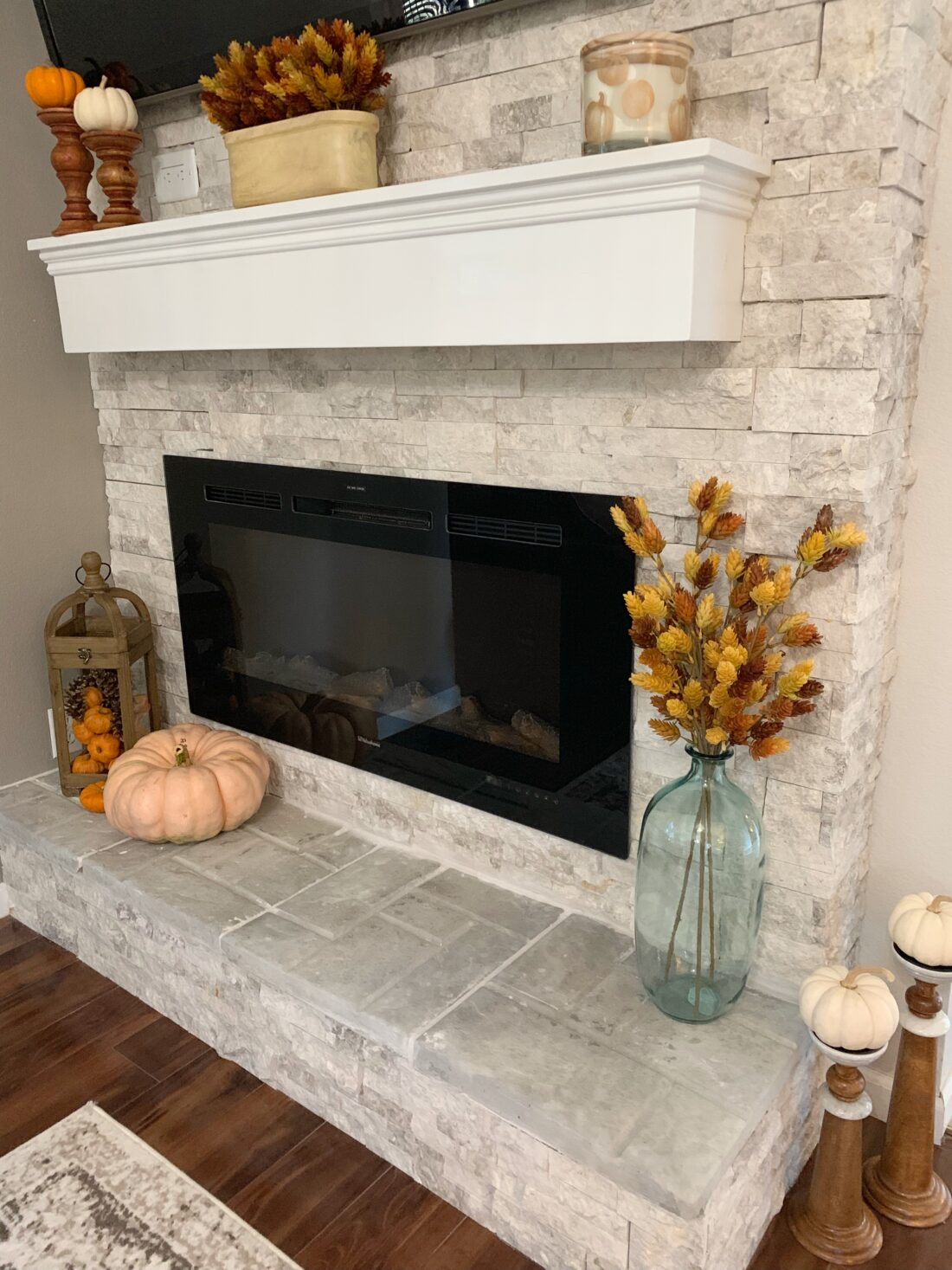 A Cup Full of Sass Fall Fireplace Mantel Decor Ideas
