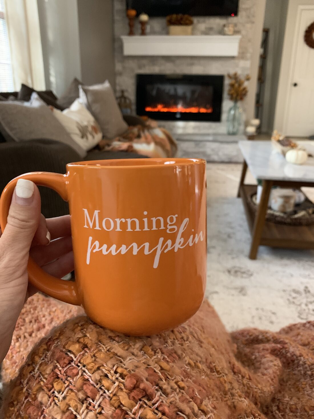 Fall Mantel Home Decor