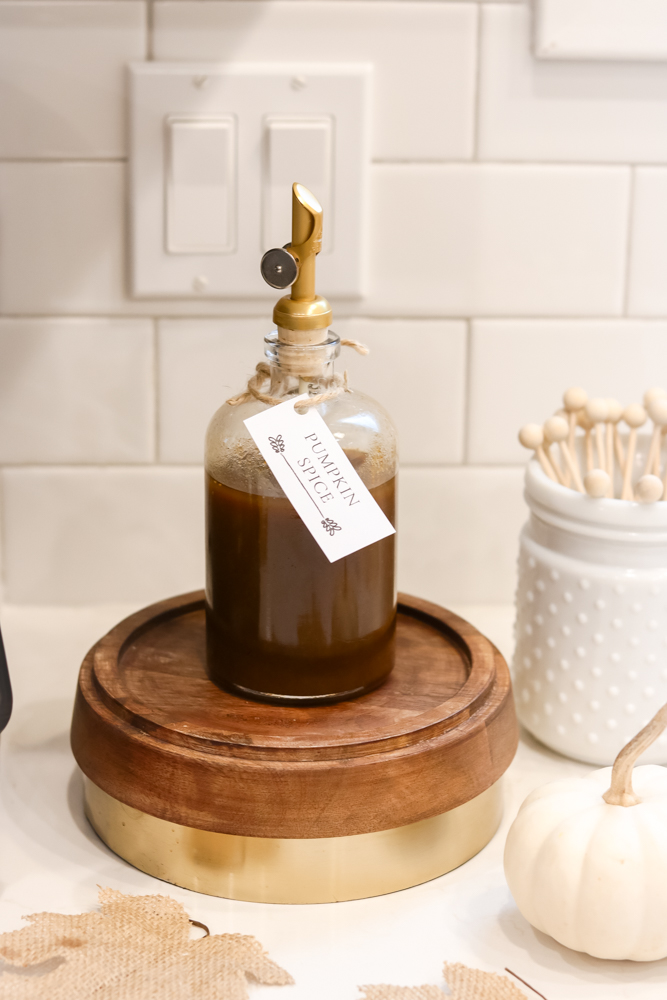 Easy Pumpkin Spice Coffee Syrup