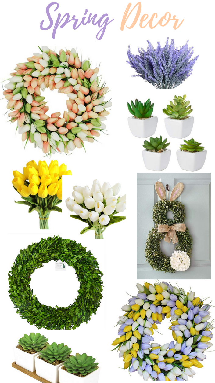 Spring and Easter Decor from Amazon