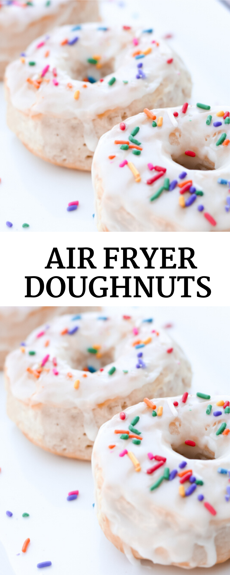 Air Fryer Doughnuts with Biscuits